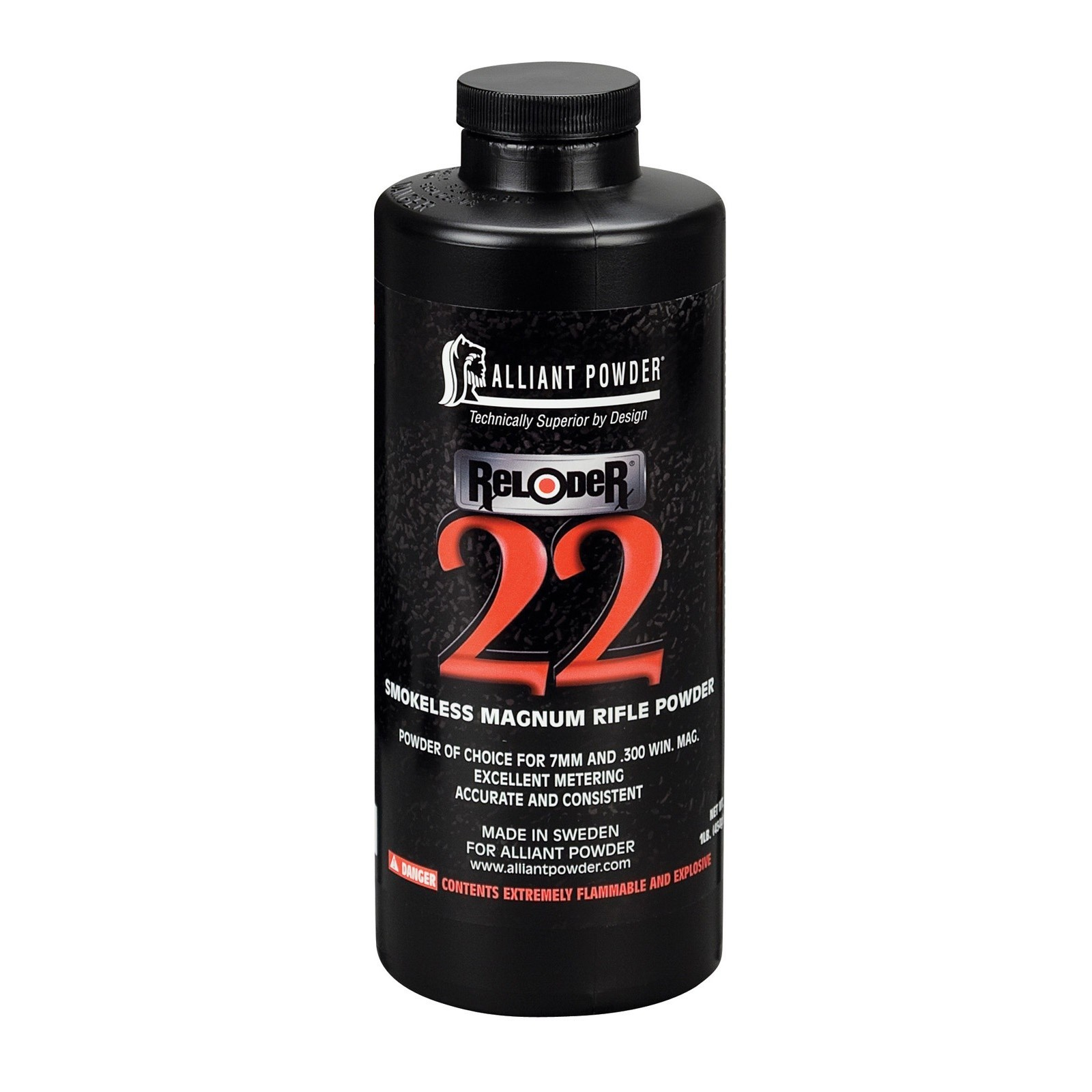 Alliant Powder Reloader 22 Magnum Rifle, 1 LB