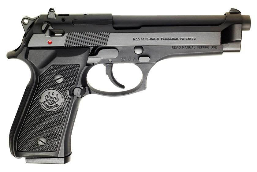 "Beretta 92FS Blue 9MM Luger, 5"" Barrel"