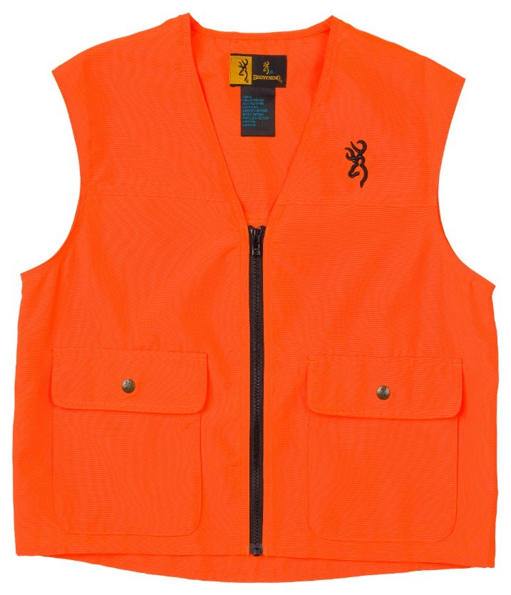 Browning Safety Vest Blaze Orange, L