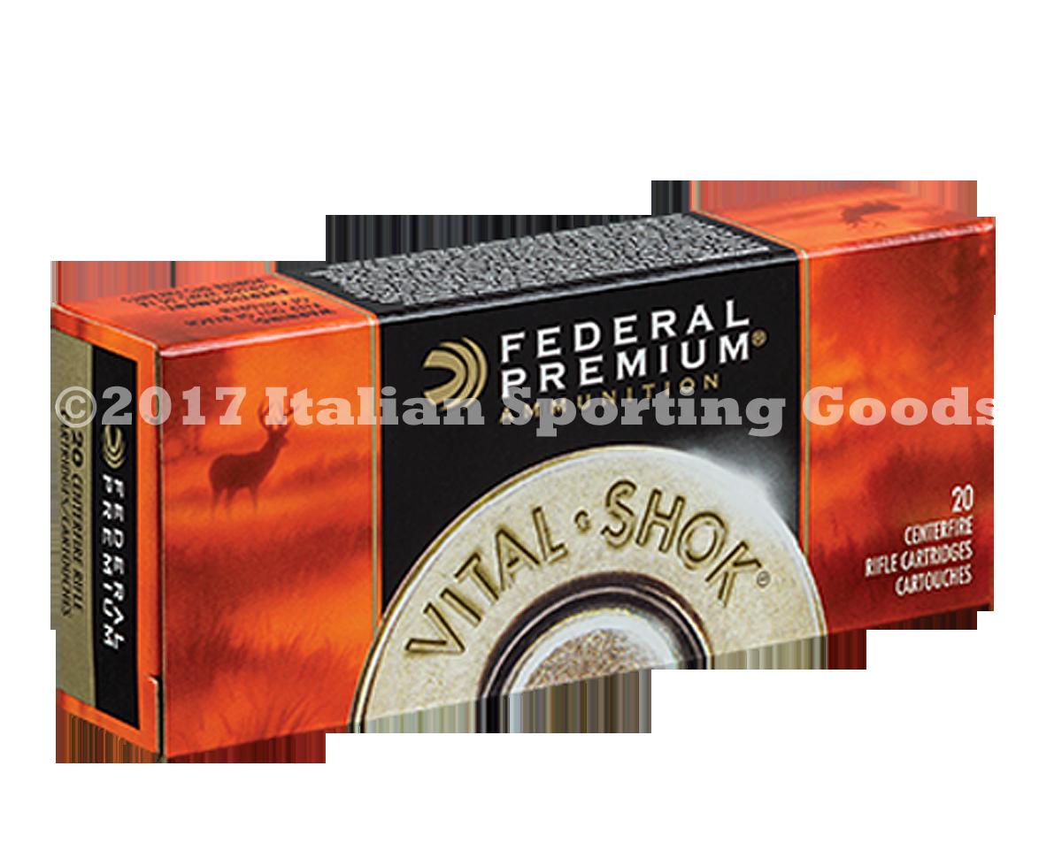 Federal 223 Rem, 60 Gr Nosler Par