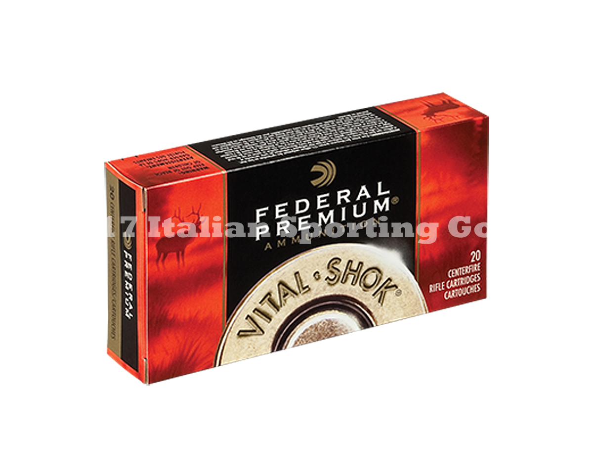 Federal 338 Win Mag, 210 Gr Nosler Par