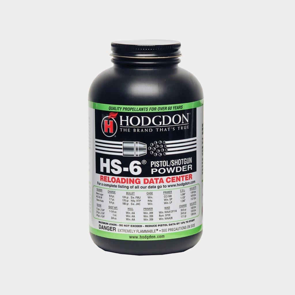Hodgdon Powder Co. HS-6, 1 LB