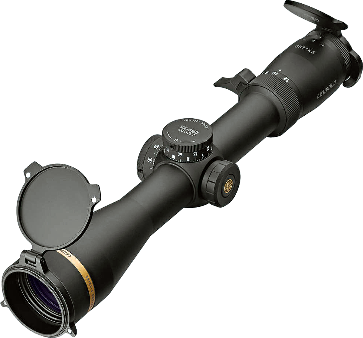 Leupold & Stevens VX-6HD, 30MM Matte Black