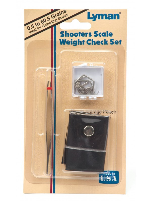 Lyman Products Scale Weight Shooters Set