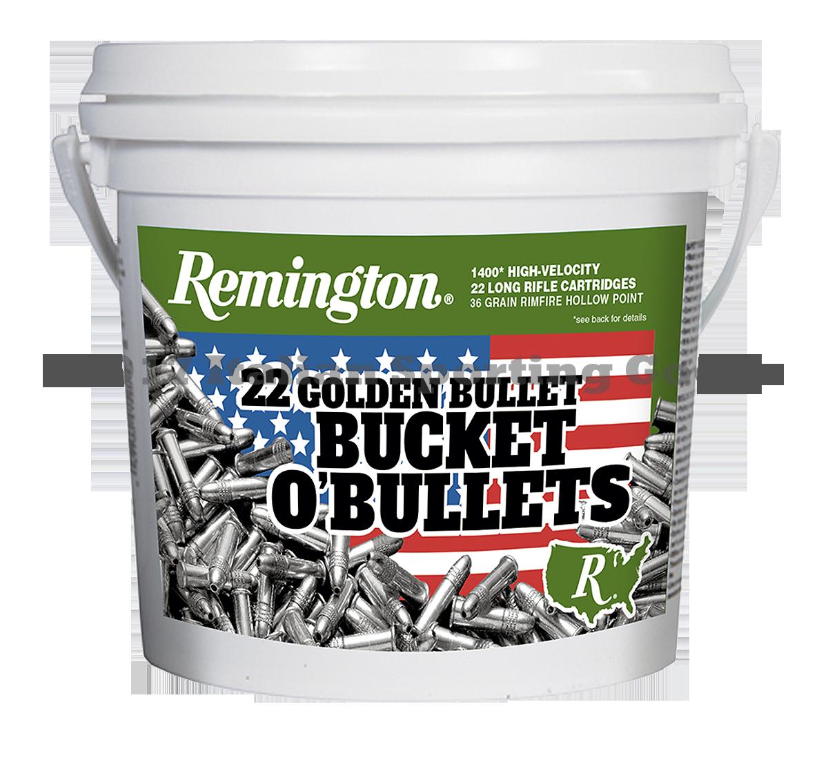 Remington 22 LR, 36 Gr High Velocity HP