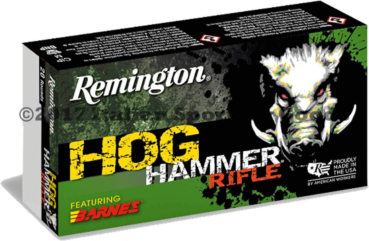 Remington 223 Rem, 62 Gr TSX Hog Hammer