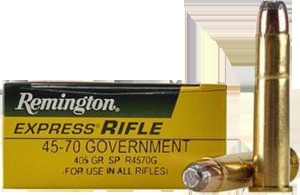 Remington 45-70 Govt, 405 Gr SP