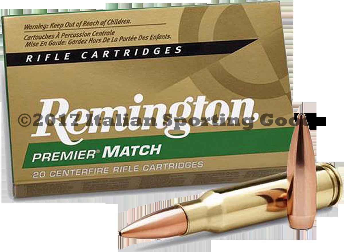 Remington 308 Win, 168 Gr MatchKing BTHP