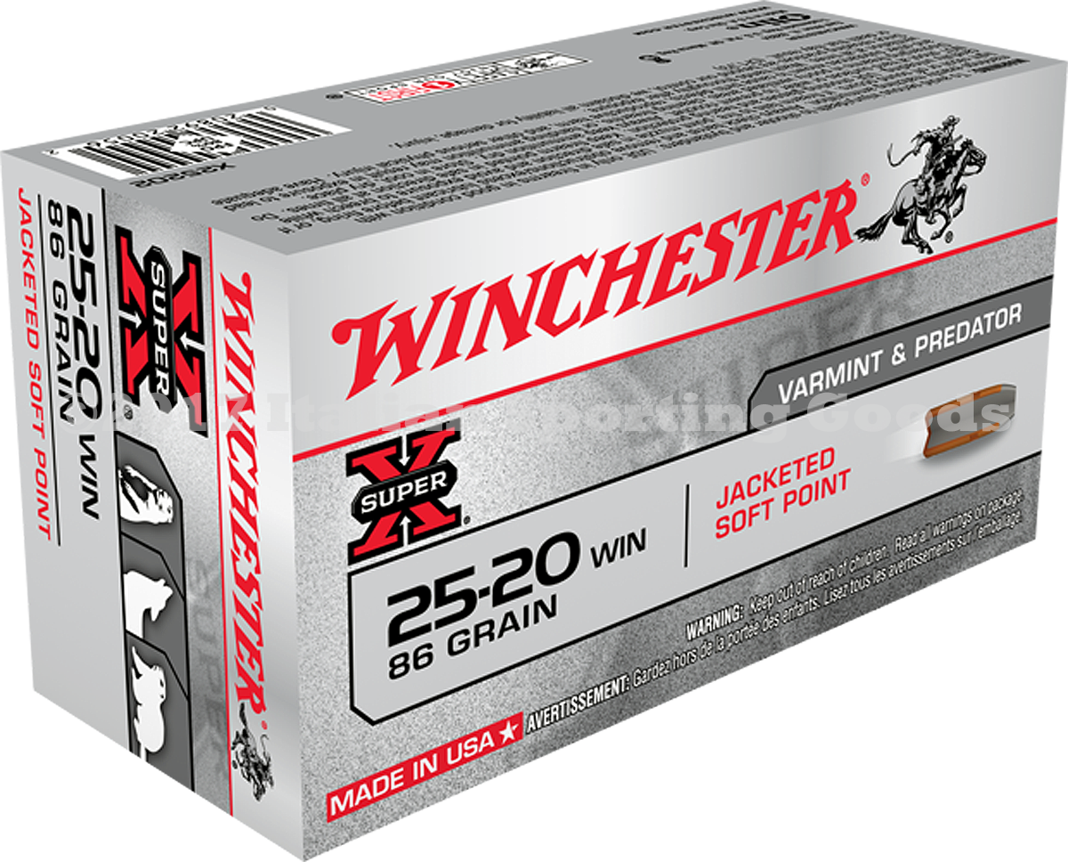 Winchester 25-20 Win, 86 Gr Soft Point