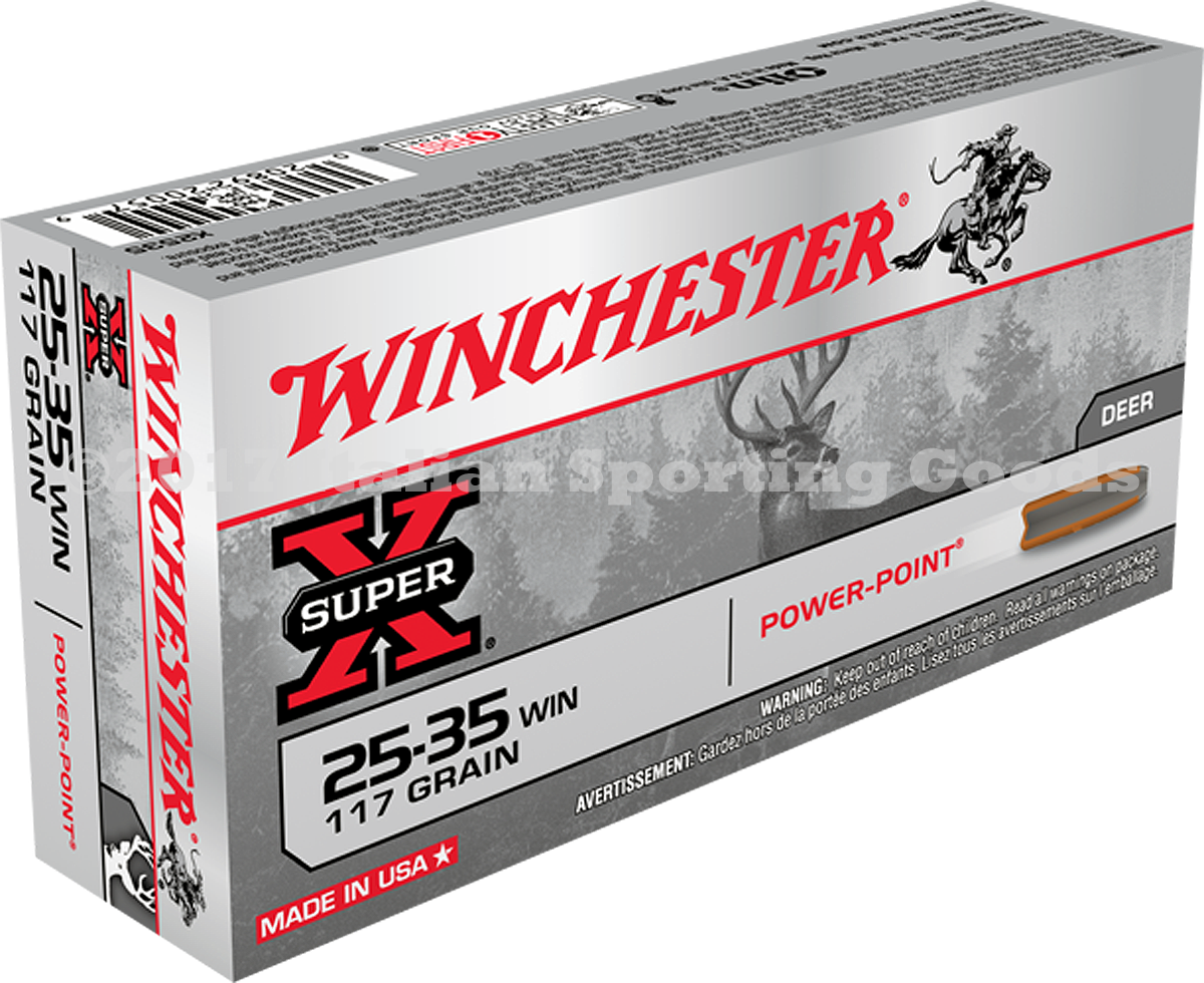 Winchester 25-35 Win, 117 Gr Soft Point