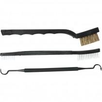 Allen Gun Cleaning Toolset, Pick, Brush & Bristle Brush