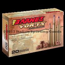 Barnes Bullets 243 Win, 80 Grain TTSX BT