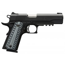 "Browning 1911-380 Black Label Pro w/Rail 380 ACP, 4 1/4"" Barrel"