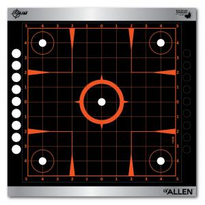 "Allen EZ Aim Reflective Adhesive Splash 12""x12"" Sight In Target, 4 Targets"