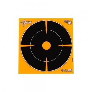 "Allen EZ Aim Adhesive Splash 6"" Bull's Eye, 12 Targets"