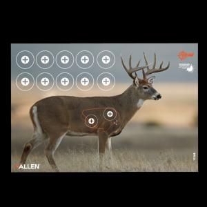 """Allen EZ Aim Splash Whitetail Target 12.75""""x24"""", 3 Targets"""