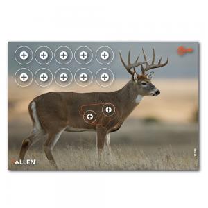 "Allen EZ Aim Whitetail Target 23""x35"", 2 Targets"
