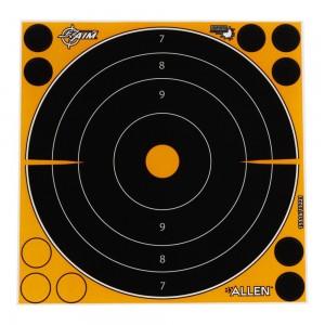 "Allen EZ Aim Adhesive Splash 8"" Bullseye Target, 6 Targets"
