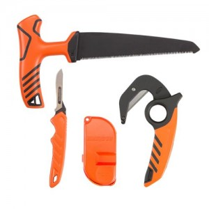 "Allen Field Combo Pack, Replaceable Blade Knife, Zip Skinning Knife,  T-Handle 6"" Saw-Orange"