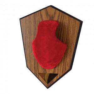 Allen Buck Horn Mounting Kit Red
