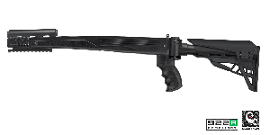 Advanced Technology International Strikeforce SKS Side Folding Stock-Black