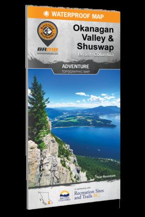 Backroad Mapbooks REC Map Okanagan Valley Shushwap