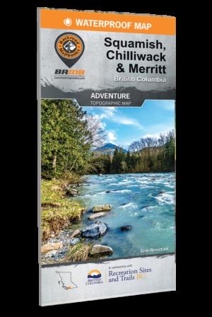 Backroad Mapbooks REC Map Squamish, Chwack & Merritt 2nd Edition
