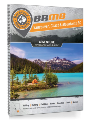 Backroad Mapbooks Vancouver Coast & Mtn 5th Edition