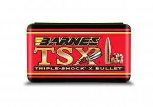 "Barnes Bullets 25 Cal 115 Gr .257"" FB 1:9"" Twist, TSX Bullet / 50 Box"
