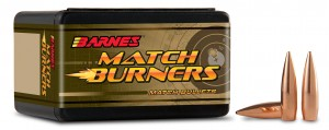"Barnes Bullets 6.5MM 140 Gr .264"" BT, Match Burners Bullet / 100 Box"