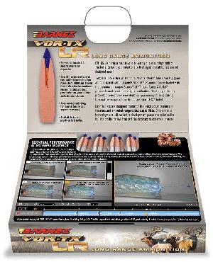 Barnes Bullets VOR-TX Long Range 30-06 Sprg, 175 Grain LRX / 20 Rds