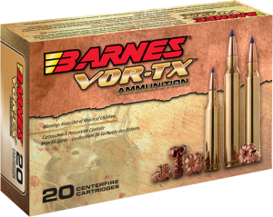 Barnes Bullets VOR-TX 6.5 Creedmoor, 120 Grain TTSX / 20 Rds