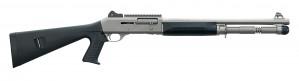 """Benelli M4 Tactical Titanium Cerakote Pistol Grip 12 Ga x 3"""", 18 1/2"""" Barrel"""