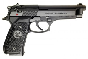 "Beretta 92FS Blue 9MM Luger, 5"" Barrel"
