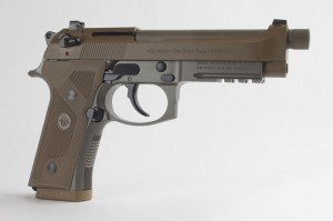 "Beretta M9A3 Olive Drab 9MM Luger, 5"" Barrel"