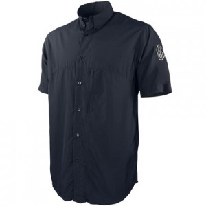 Beretta Buzzi Shooting Shirt Short Sleeve, L-Navy Blue