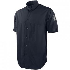 Beretta Buzzi Shooting Shirt Short Sleeve, M-Navy Blue
