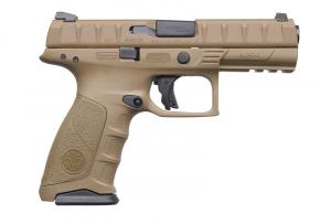 "Beretta APX Flat Dark Earth 9MM Luger, 4 1/4"" Barrel"