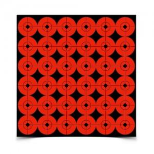 "Birchwood Casey Target Spots 1"" Orange-360 Targets"