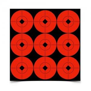 "Birchwood Casey Target Spots 2"" Orange-90 Targets"