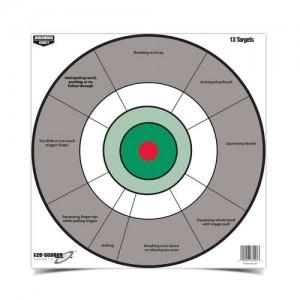 "Birchwood Casey Eze-Scorer 12"" Handgun Trainer Paper Targets-13 Targets"