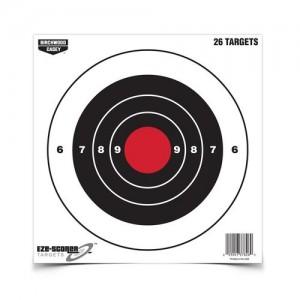 """Birchwood Casey Eze-Scorer 8"""" Bull's Eye Paper Targets-26 Targets"""