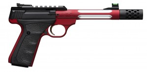 "Browning Buck Mark Plus Red UFX 22 LR, 5 1/2"" Barrel"