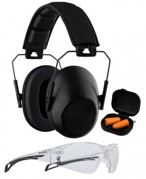 Browning Range Kit Glasses & Earmuffs NRR 27