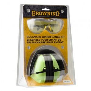 Browning Range Kit Junior Glasses & EarMuffs NRR 19