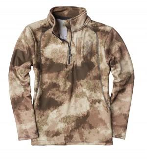Browning Youth Shirt Wasatch 1/4 Zip AU Camo, S