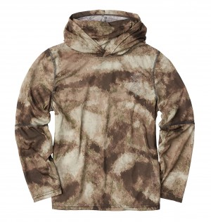 Browning Youth Shirt Wasatch AU Camo, S