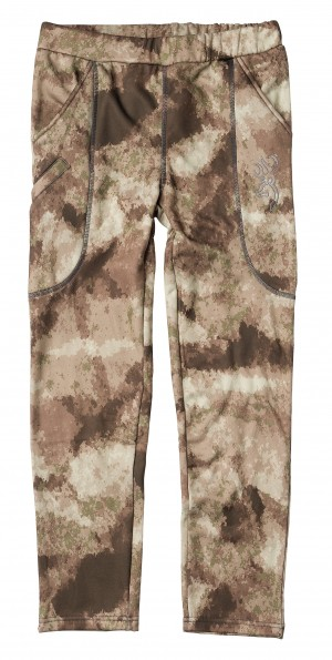Browning Youth Pant Wasatch AU Camo, S