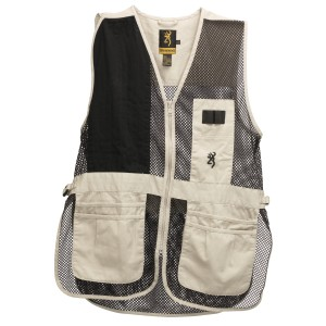 Browning Trapper Creek Vest Sand/Blk XL