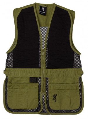 Browning Ace Shooting Vest Right Hand M-Black/Red